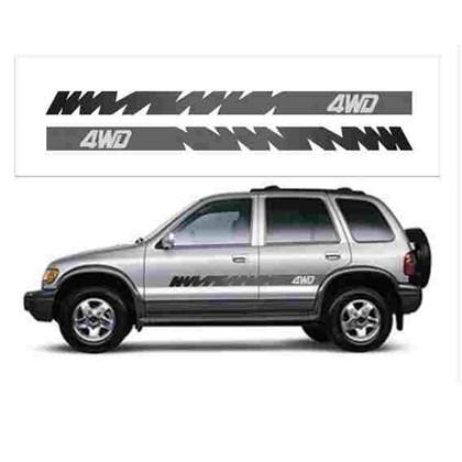 ADESIVO 4WD ATÉ 2003