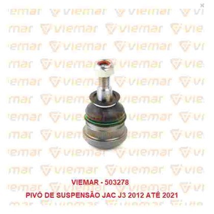 PIVO DA SUSPENSAO JAC J3 1.4 16V