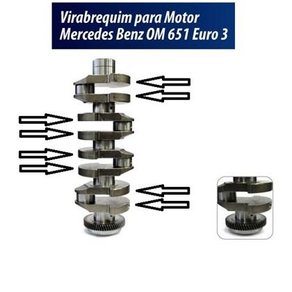 VIRABREQUIM DO MOTOR OM651 2.1 16V 2013 ... EURO 5